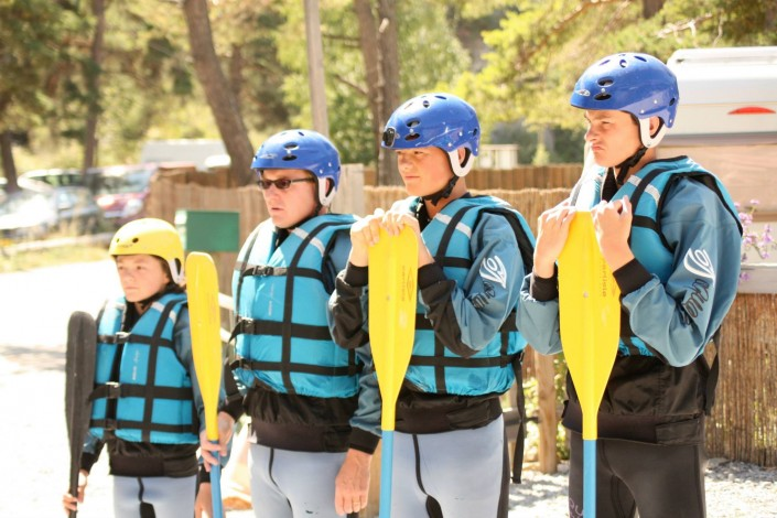 équipe sports d'eau vive à barcelonnette