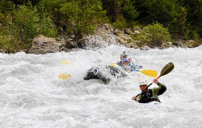 rafting sportif vallée de l'ubaye