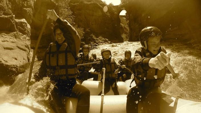rafting familiale sur l'ubaye
