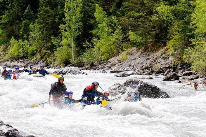 rafting extrême ubaye