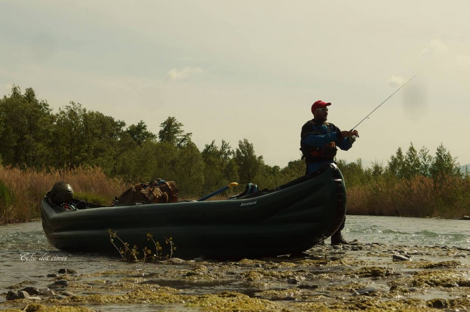 Pêche à la truite en rando Canoë